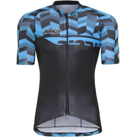 Bioracer Spitfire Fishbone Bike Jersey Shortsleeve Men blue/black